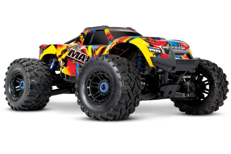 Traxxas Maxx 1/10 4WD Brushless Electric RC Monster Truck, VXL