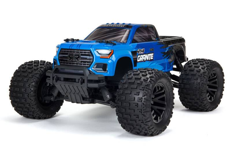 ARRMA GRANITE 4X4 V3 MEGA 550 Brushed Monster Truck RTR, Blue