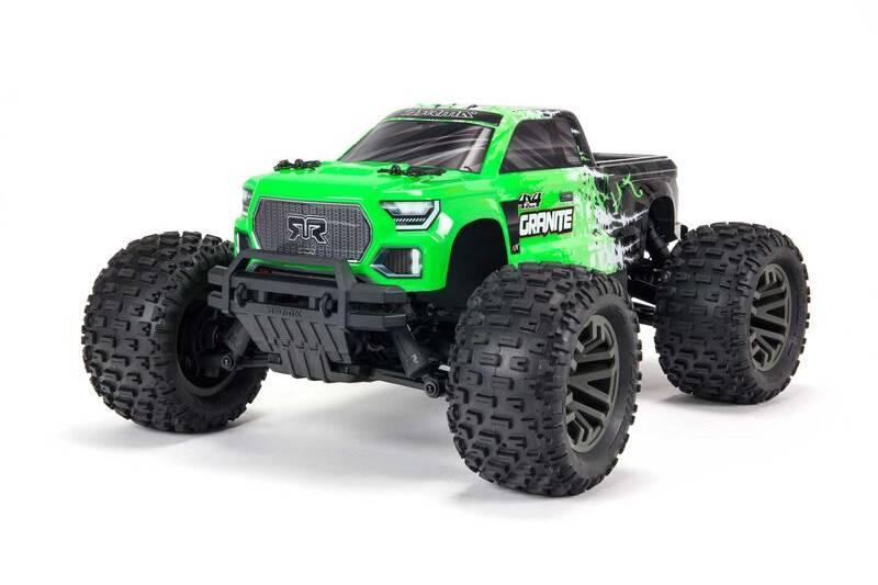 ARRMA GRANITE 4X4 V3 3S BLX Brushless Monster Truck RTR, Green