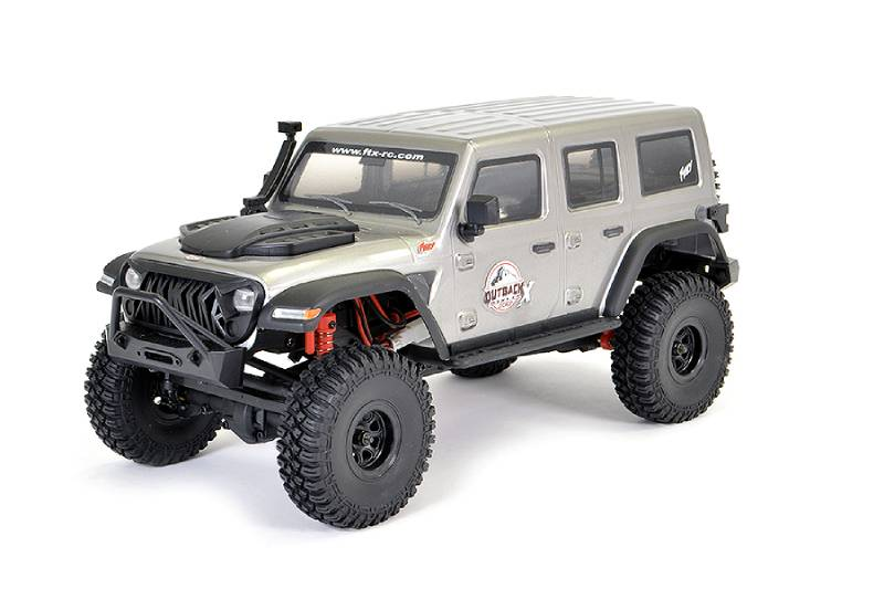 FTX OUTBACK MINI X FURY 1:18 TRAIL READY-TO-RUN GREY