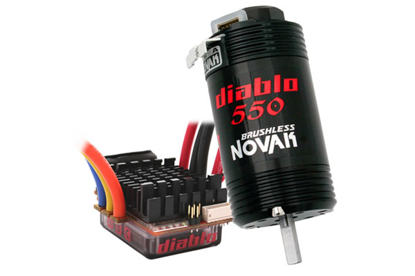 Novak Diablo Dual Battery Brushless 550 System